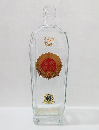 老窖金牌高白玻璃酒瓶