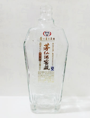 茅仙酒窖藏方瓶