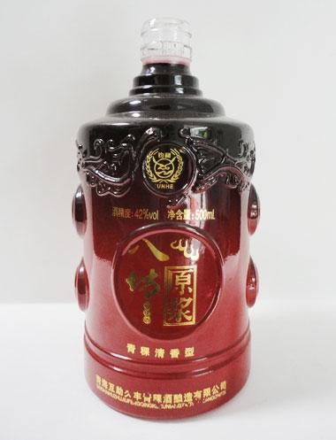 八坊原浆玻璃酒瓶