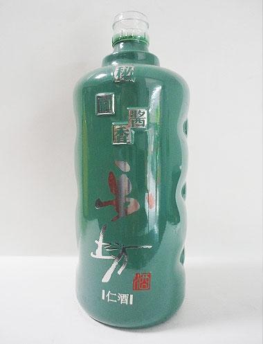 玻璃喷釉瓶
