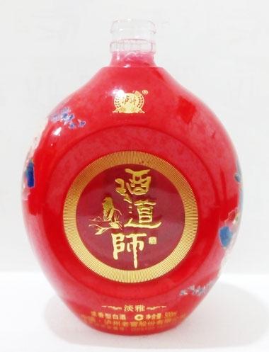 酒师道淡雅酒酒瓶