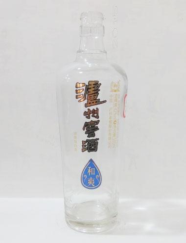泸州窖酒高白玻璃酒瓶