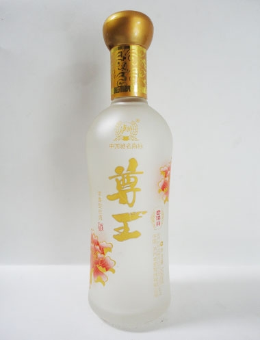 广东蒙砂玻璃酒瓶