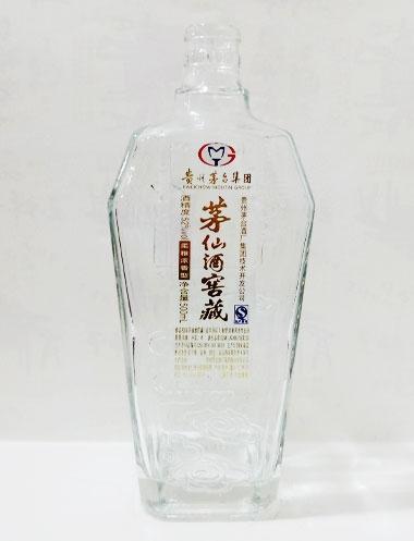 广西茅仙酒窖藏方瓶